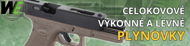Plynové airsoft zbraně WE Tech |AirsoftGuns