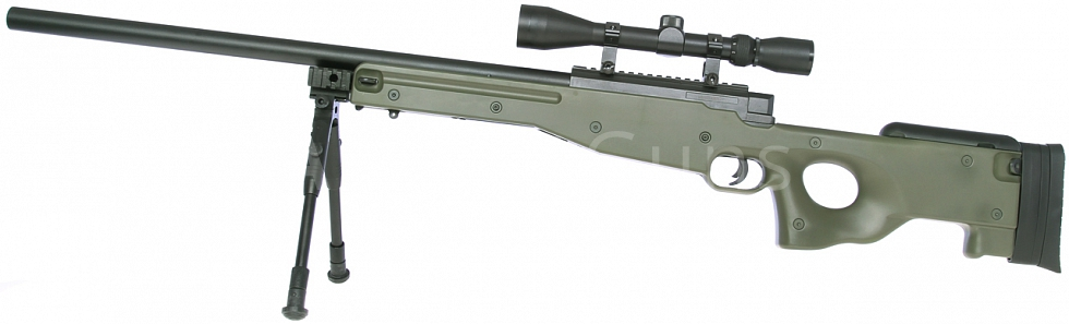 L96A1, OD, dvojnožka, optika, Well, MB01C