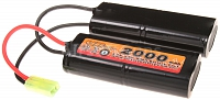 Akumulátor VB M15/M4 9,6V/2000 mAh, VB Power