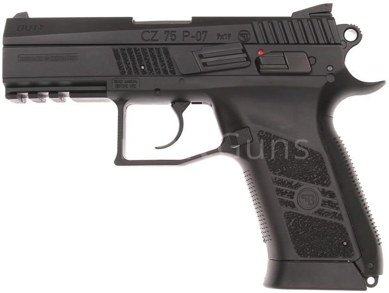 CZ P-07 DUTY, GBB, CO2, ASG