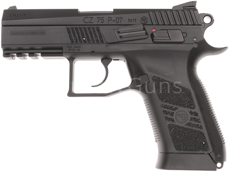 CZ P-07 DUTY, GNB, CO2, ASG