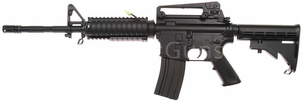 M4A1 RIS, full set, M203, plast, D-Boys, BY-031, BI-3181AB