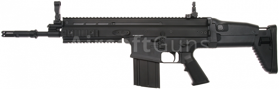 FN SCAR HEAVY, Black, D-Boys [BY-805B/SC-02B]