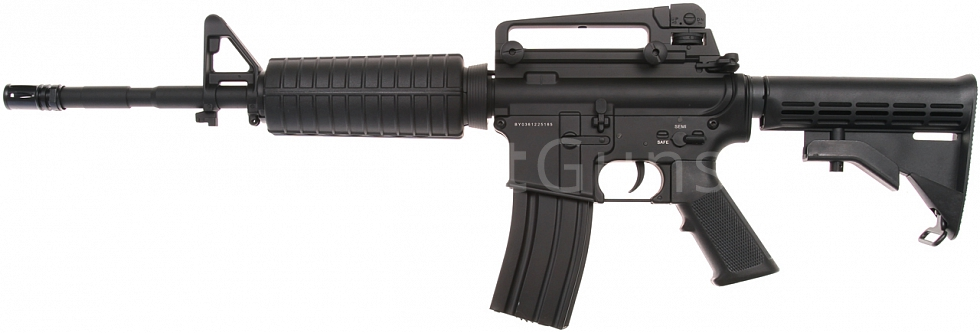Power Custom M4A1, 160 m/s, AirsoftGuns, BY-036, BI-3681M