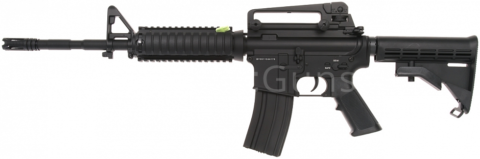 Power Custom M4A1 RIS, 160 m/s, AirsoftGuns, BY-051, BI-5181M