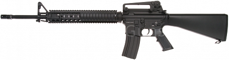 Durable Custom M16A4 RIS, 130 m/s, AirsoftGuns, BY-055, BI-5581M