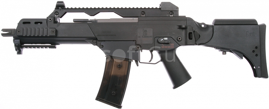 H&K G36CV, blowback version, Black, Umarex