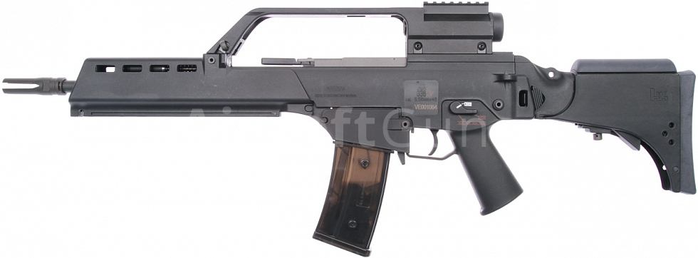 H&K G36KV, blowback version, Black, Umarex
