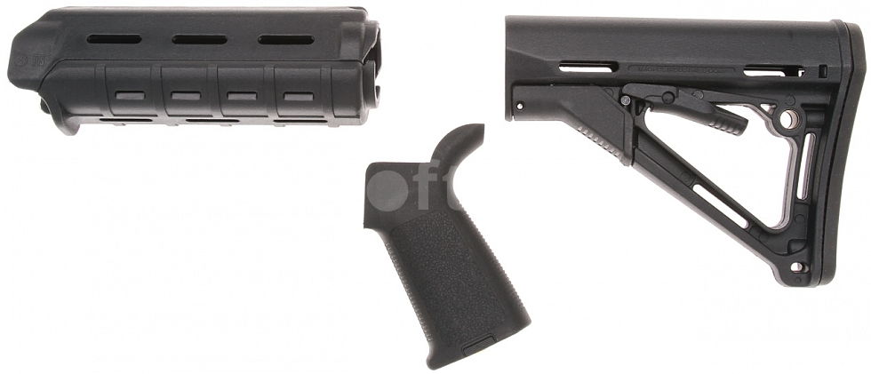 M&P-15 MOE Magpul PTS Kit, černý, Element