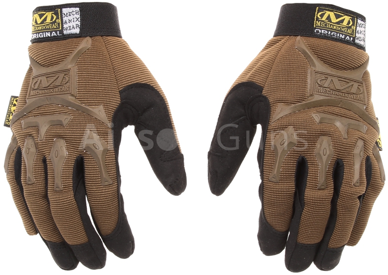 Taktické rukavice Mechanix M-Pact, TAN, M, Mechanix