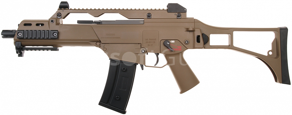 G36C, blowback version, TAN, Ares, AR-056