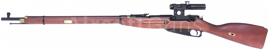 Mosin Nagant, Gas, dřevo, optika, PPS, G-3