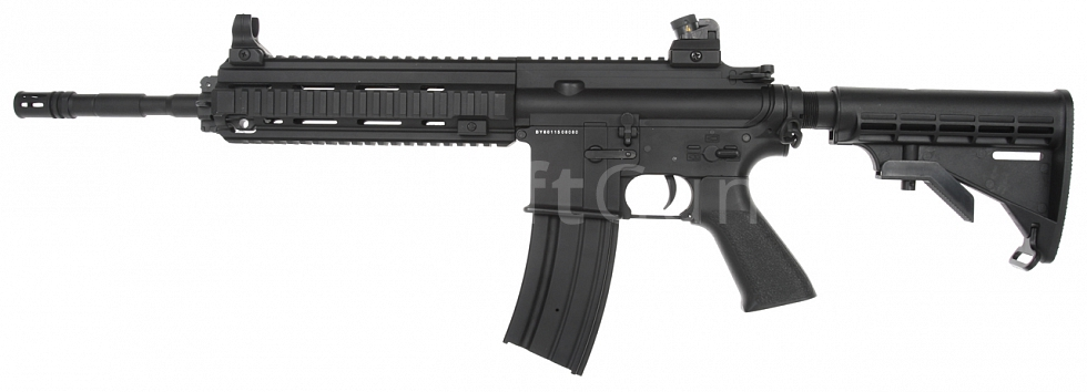 Power Custom HK416, baterie v trnu, 160 m/s, AirsoftGuns, BY-801, BI-8001M