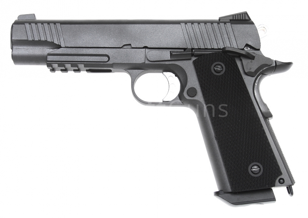 M1911 Tactical, GBB, CO2, kufřík, Well, G194
