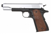 Colt M1911A1, Silver, kov, Well, P361M-S