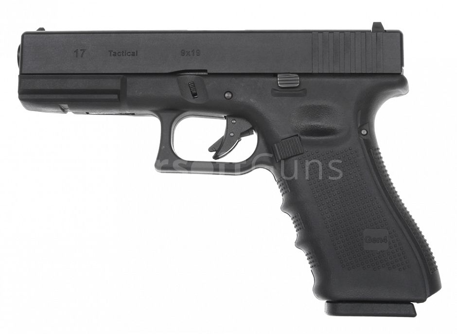 Glock 17, rám gen. 4, Black, GBB, WE