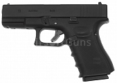 Glock 19, rám gen. 4, Black, GBB, WE