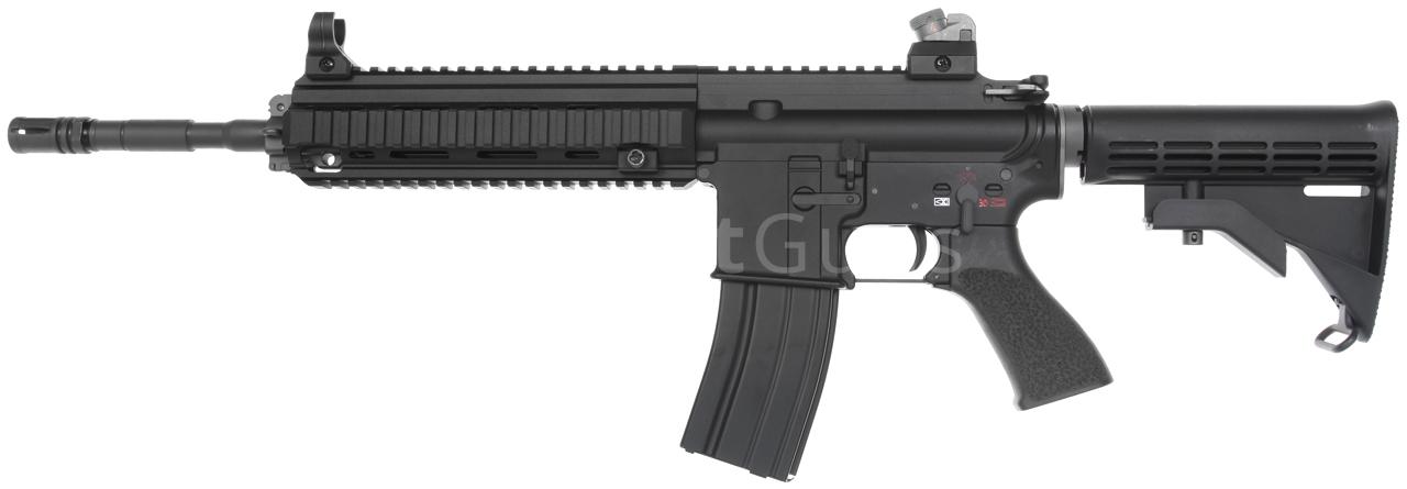 HK416, Black, GBB, WE | AirsoftGuns