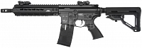 M4 CXP-HOG, baterie v trnu, blowback, black, ICS