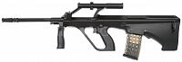 Steyr AUG A1 Military, Black, Snow Wolf, SW-020A