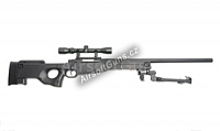 L96A1 Black, dvojnožka, optika, AGM, MP002B2