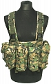Chest Rig Tactical, digital woodland, ACM