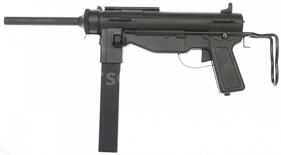 M3A1 Grease gun, bez blowback, Snow Wolf, SW-M6-02